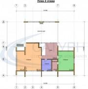 Проект Дипломат - План 2 этажа